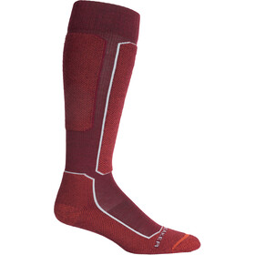 Icebreaker Ski+ Light OTC Socks Men, cabernet